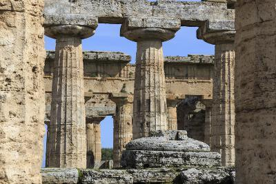 Temple of Hera (The Basilica) 530 Bc, Oldest Greek Temple at Paestum, Campania, Italy-Eleanor Scriven-Photographic Print