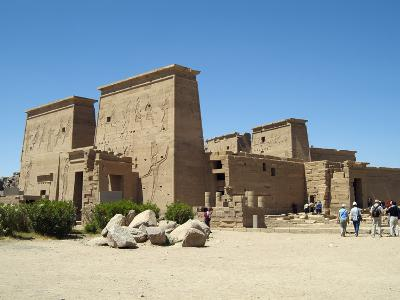 Temple of Isis, Philae, Aswan, Egypt-Gary Cook-Photographic Print