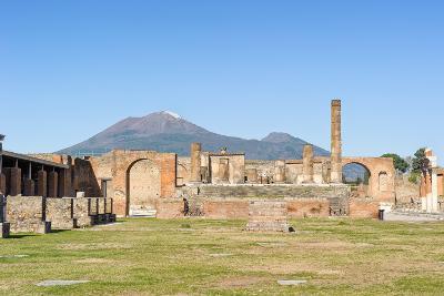 Temple of Jupiter in Pompeii-JIPEN-Photographic Print