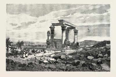 Temple of Kardusseh in Nubia. Egypt, 1879--Giclee Print