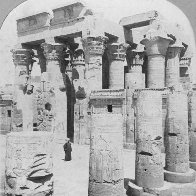 Temple of Kom Ombo, Egypt, C1899--Photographic Print
