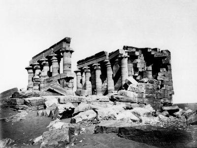 Temple of Maharrakah, Nubia, Egypt, C19th Century--Giclee Print