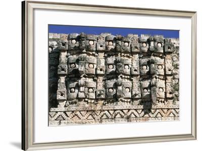 Temple of Masks or Codz Poop--Framed Giclee Print