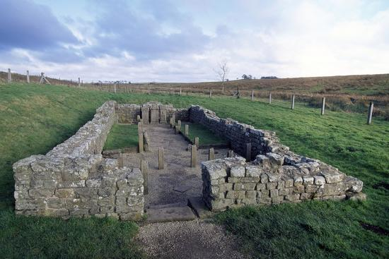Temple of Mithras, Carrawburgh Roman Fort, Hadrian's Wall--Photographic Print
