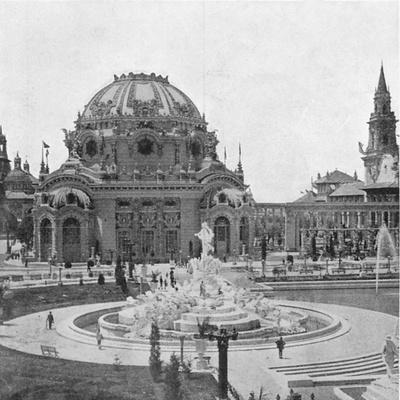 Temple of Music at the Pan-American Exhibition at Buffalo, 1901--Giclee Print