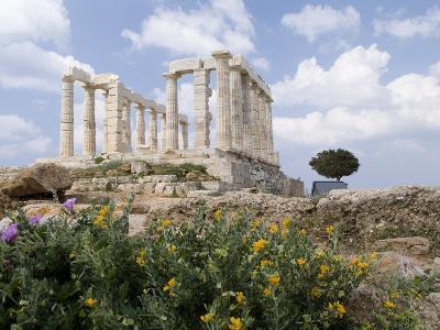 Temple of Poseidon-Richard Nowitz-Photographic Print