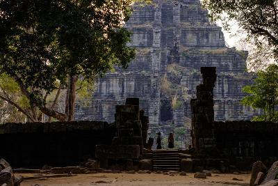 Temple of Prasat Thom (Prasat Kompeng), Dated 9th to 12th Century, Temple Complex of Koh Ker-Nathalie Cuvelier-Photographic Print