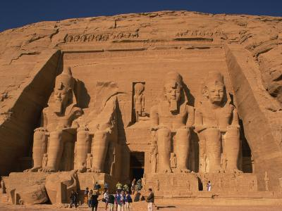 Temple of Re-Herakhte, Built for Ramses II, Abu Simbel, Egypt--Photographic Print