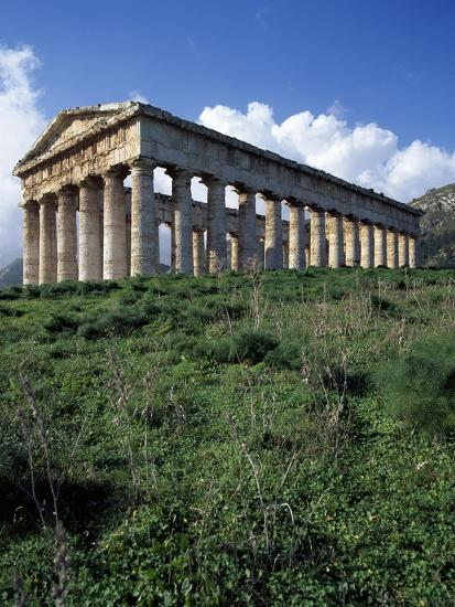 Temple of Segesta, Sicily, Italy, 5th Century BC--Giclee Print