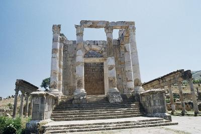Temple of Septimius Severus--Giclee Print