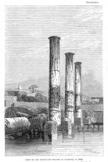 Temple of Serapis at Puzzuoli in 1183, Charles Lyell-Charles Lyell-Giclee Print