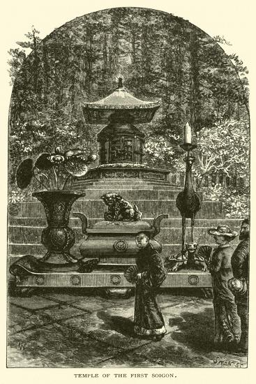 Temple of the First Soigon--Giclee Print