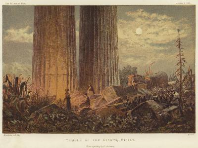 Temple of the Giants in Sicily-George Henry Andrews-Giclee Print