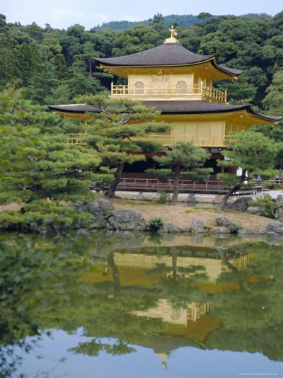 Temple of the Golden Pavilion, Kyoto, Japan-David Poole-Photographic Print