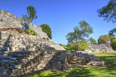 Temple of the King, Kohunlich, Mayan Archaeological Site, Quintana Roo, Mexico, North America-Richard Maschmeyer-Photographic Print