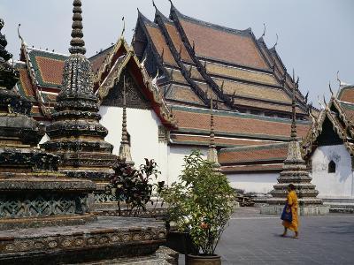 Temple of the Reclining Buddha, Wat Pho, Bangkok, Thailand, 18th Century--Giclee Print