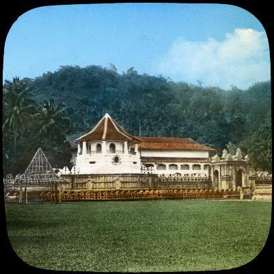 Temple of the Sacred Tooth, Kandy, Ceylon, Late 19th or Early 20th Century--Giclee Print