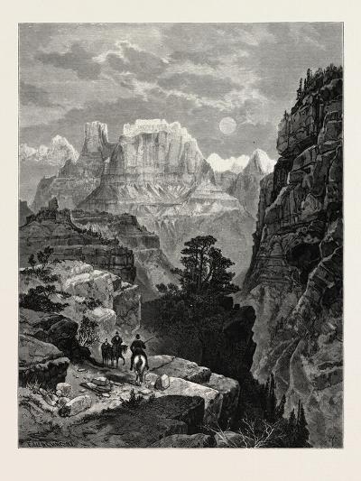 Temple of the Virgin, Mu-Koon-Tu-Weap Valley, Utah, USA--Giclee Print
