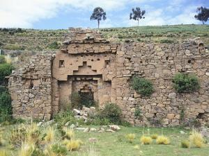 Temple of the Virgins of the Sun on the Island of the Moon, Lake Titicaca