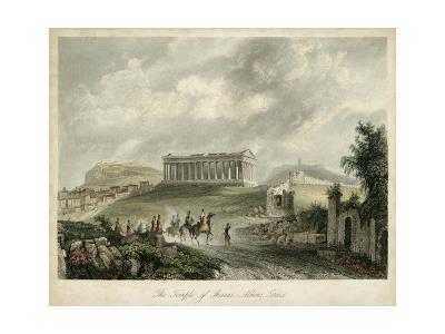 Temple of Theseus- Athens, Greece-Wolfensberger-Art Print