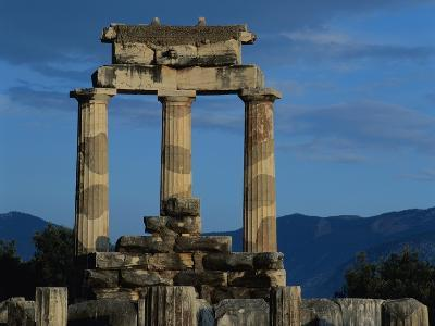 Temple of Tholos in the Sanctuary of Athena-Jim Zuckerman-Photographic Print