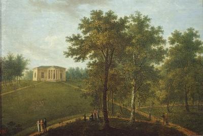 Temple of Truth, View in the Park of Kurakin Estate Nadezhdino, End 1790s-Vasily Petrovich Prichetnikov-Giclee Print