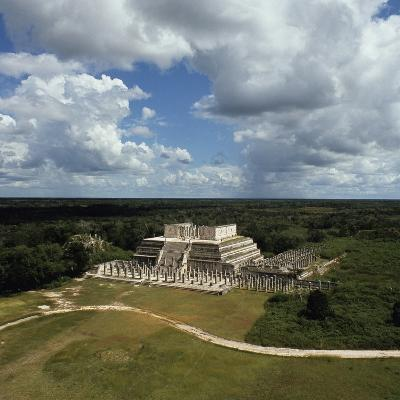 Temple of Warriors, Group of Thousand Columns, Chichen Itza--Photographic Print