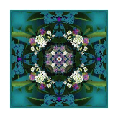 Temple Of Water Mandala VIII-Alaya Gadeh-Art Print