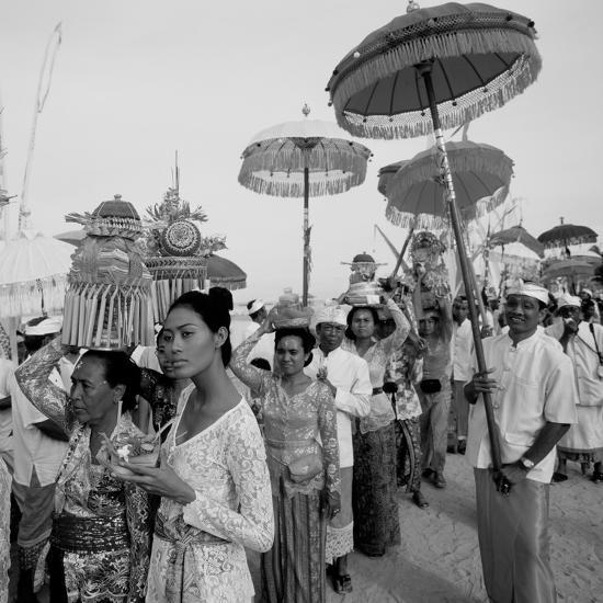 Temple Procession--Photographic Print