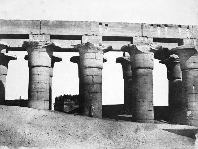 Temple Ruins, Egypt, 1852-Maxime Du Camp-Giclee Print