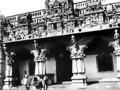 Temple, Singapore, 1900--Giclee Print