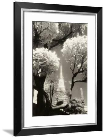 Temple Spire, Wal Phra Keo, Bangkok,Thailand-Theo Westenberger-Framed Photographic Print