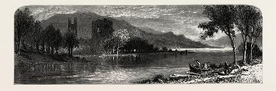 Templemichael Church and Castle, Ireland--Giclee Print