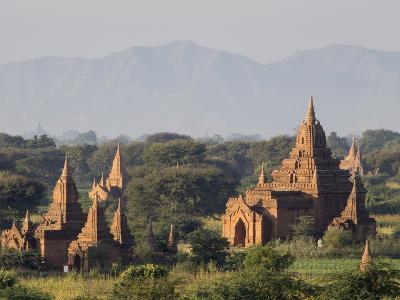 Temples, Bagan (Pagan), Myanmar (Burma)-Stephen Studd-Photographic Print