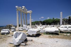 Temples of Apollo and Athena, Side, Near Selimiye, Turkey Roman Civilization