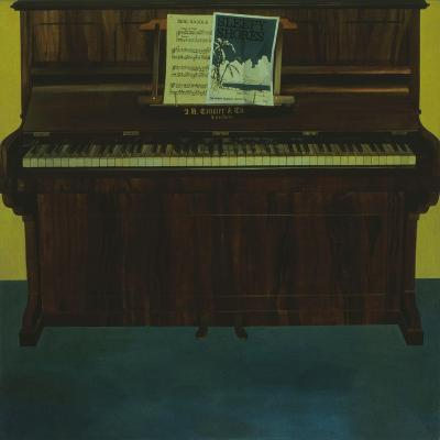Tempo Di Trot, Oil on Panel 1980-Terry Scales-Giclee Print
