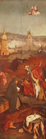 Temptation of Saint Anthony Triptych-Hieronymus Bosch-Giclee Print