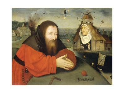 Temptation of St. Anthony, C. 1530-1600-Heronimus Bosch-Giclee Print