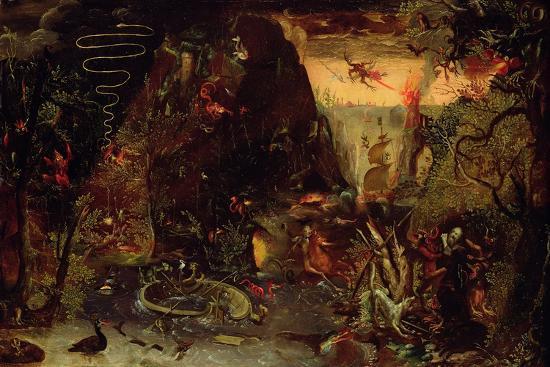 Temptation of St. Anthony-Jakob Isaaksz Swanenburgh-Giclee Print