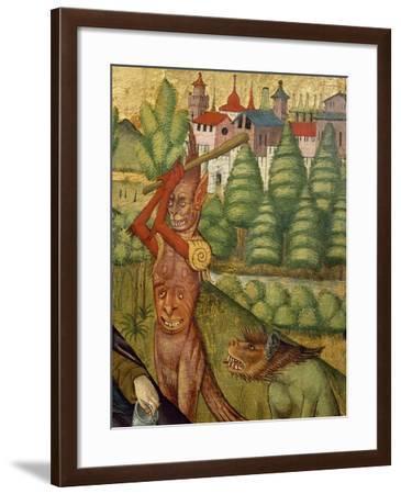 Temptation of St Anthony--Framed Giclee Print