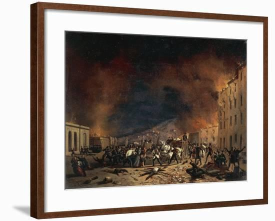 Ten Days of Brescia at Torrelunga Gate-Faustino Joli-Framed Giclee Print