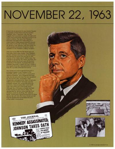 Ten Days That Shook the Nation - JFK assassination--Art Print