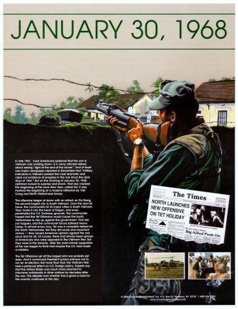 Ten Days That Shook the Nation - The Vietnam War--Art Print