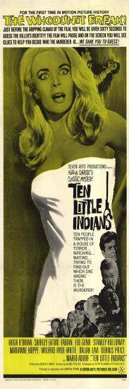Ten Little Indians, 1966--Art Print