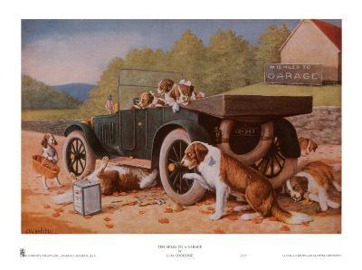 Ten Miles to a Garage-Cassius Marcellus Coolidge-Art Print