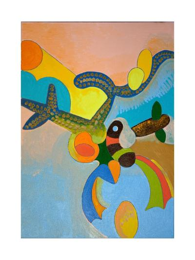 Ten Minutes after His Final Take-Off, Ikarus Gets Attacked by a Bird of Paradise, 2010-Jan Groneberg-Giclee Print