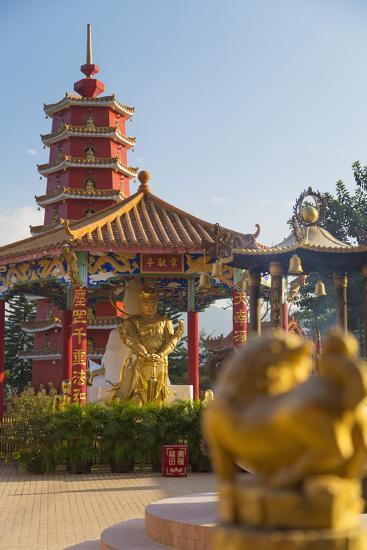 Ten Thousand Buddhas Monastery, Shatin, New Territories, Hong Kong, China, Asia-Ian Trower-Photographic Print