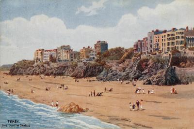 Tenby, the South Sands-Alfred Robert Quinton-Giclee Print