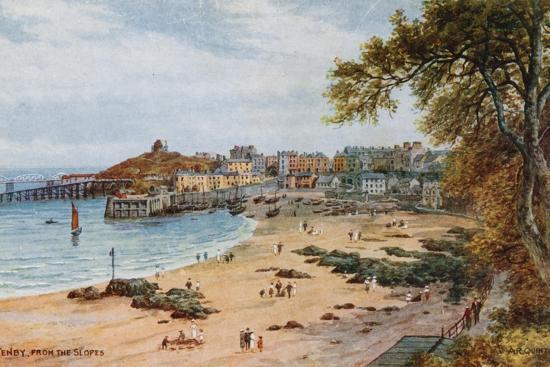 Tenby-Alfred Robert Quinton-Giclee Print