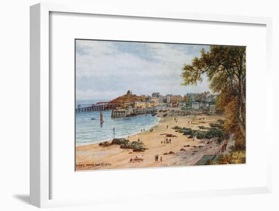 Tenby-Alfred Robert Quinton-Framed Giclee Print